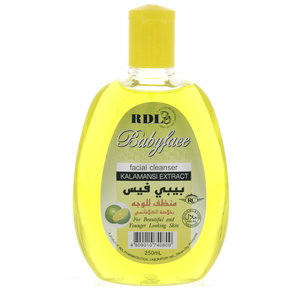 RDL Baby Face Facial Cleanser  with Kalamansi Extract 250ml