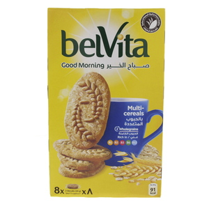 Belvita Good Morning Multi Cereals Biscuits 160g