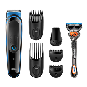 Braun multi grooming kit MGK3045 7 in one face and body trimming kit