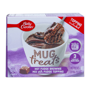 Betty Crocker Mug Treats Hot Fudge Brownie 300g