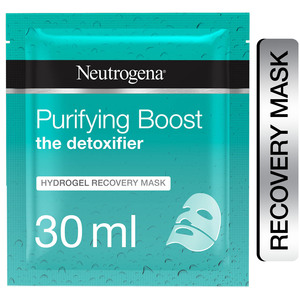 Neutrogena The Detoxifier Purifying Boost Hydrogel Recovery Mask 30ml