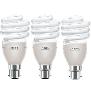 Philips Tornado Energy Saving CFL Bulb 23W B22 CDL 3pcs