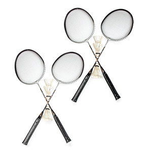 Sports Champion Badminton 4pcs Set BR102 Assorted Color & Design
