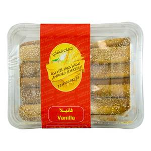 Jawed Bakery Tea Cookies Vanilla 400g