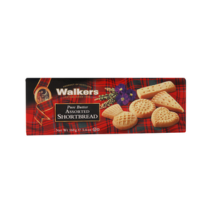 Walkers Pure Butter Assorted Shortbread 160g