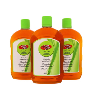 Home Mate Antiseptic Disinfectant 3 x 500ml