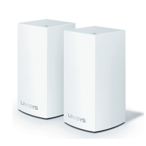 Linksys Velop Whole Home Intelligent Mesh Dual Band WiFi System, Tri-Band, 2-pack