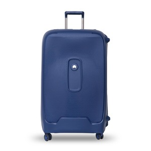 Delsey Moncey 4Wheel Hard Trolley 82cm Blue