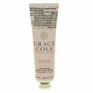 Grace Cole Softning Hand And Nail Cream Ginger Lily And Mandarin 30ml