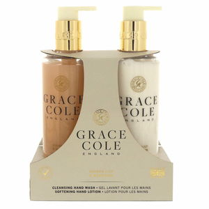 Grace Cole Cleansing Hand Wash300ml + Softning Hand Lotion300ml Ginger Lily And Mandarin