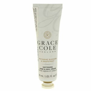 Grace Cole Softning Hand And Nail Cream Nectarine Blossom And Grapefruit 30ml