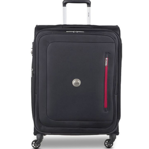 Delsey Oural 4 Wheel Soft Trolley 56cm Black