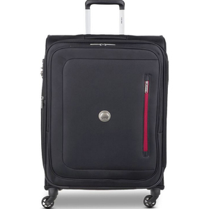 Delsey Oural 4 Wheel Soft Trolley 68cm Black