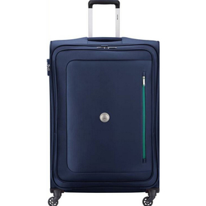 Delsey Oural 4 Wheel Soft Trolley 56cm Navy Blue