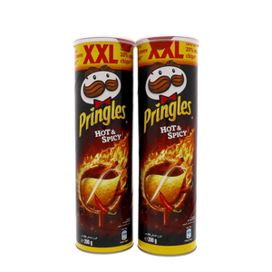 Pringles XXL Sour Hot And Spicy Chips 2 x 200g