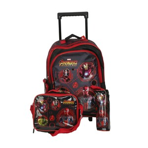 Avengers School Trolley Bag 3in1 160589 18inch