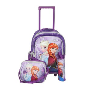 Frozen School Trolley Bag 3in1 160591 18inch