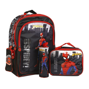 Spidrmn Backpack 3Pc Set 160595 18in