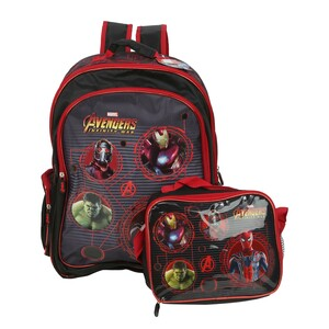 Avengers School Backpack 3in1 160596 18inch