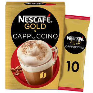 Nescafe Gold Cappuccino Coffee Mix 10 x 17g