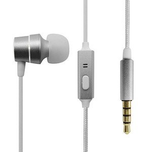 Anker SoundBuds Wired In-Ear Mono Earphone Silver