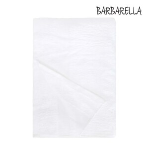 Barbarella Bath Towel Micro Cotton White Size: W70 x L140cm