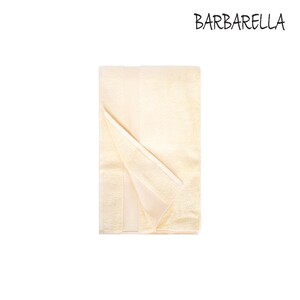 Barbarella Hand Towel Micro Cotton Yellow Size: W50 x L100cm