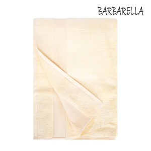 Barbarella Bath Towel Micro Cotton Yellow Size: W70 x L140cm