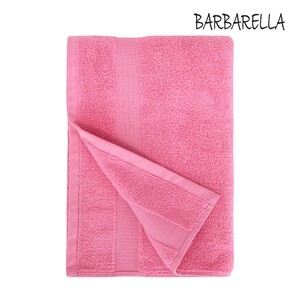 Barbarella Bath Towel Micro Cotton Rose Size: W70 x L140cm