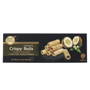 Thai Pattana Crispy Rolls Original Flavoured 80g