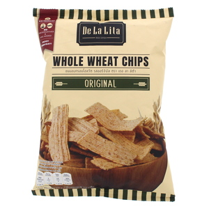 De La Lita Whole Wheat Chips Orginal 70g