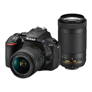 Nikon DSLR Camera D5600 AF-P 18-55mm +70-300mm  Lens