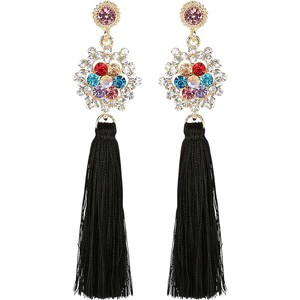 Eten Tassel Earring 1Pair (Tassel color may vary)