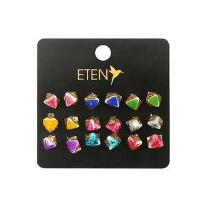 Eten Fancy Earrings 9Pair Set