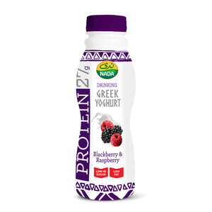 Nada Greek Yoghurt Drink Blackberry & Raspberry 330ml