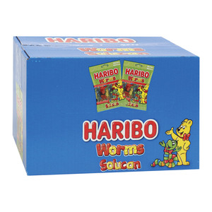 Haribo Jelly Worms 24 x 17g