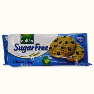 Gullon Choco Chip Biscuits Sugar Free 125g