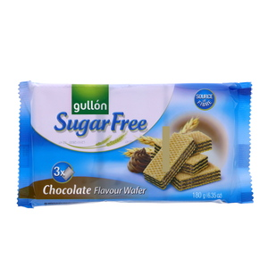 Gullon Sugar Free Wafer Chocolate Flavor 180g