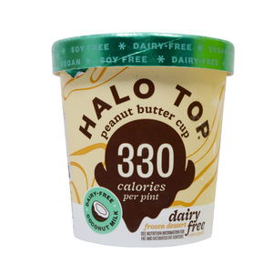Halo Top Frozen Dessert Peanut Butter Dairy Free 473ml