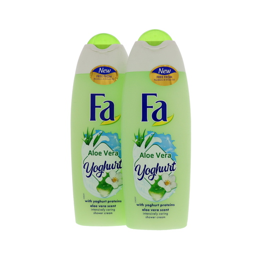 Fa Shower Gel 2 x 250ml Assorted