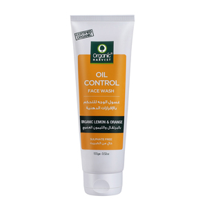 Organic Harvest Oil Control Face Wash 100g