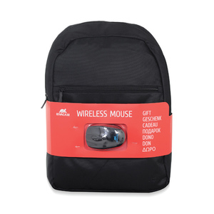 Rivacase Laptop Backpack 8065 + Wireless Mouse Assorted