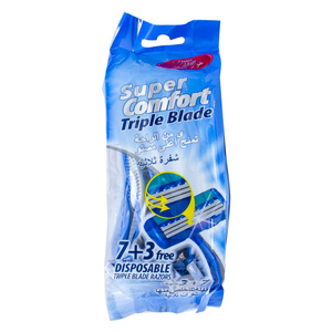 Home Mate Triple Blade Disposable Razors 10pcs