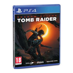 PS4 Shadow of the Tomb Raider Day One Steel-book Edition
