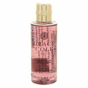 Grace Cole Soothing Bath And Shower Gel Warm Vanilla And Sandal Wood 100ml