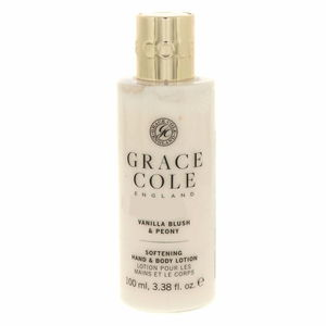 Grace Cole Softning Hand And Body Lotion Vanilla Blush And Peony 100ml