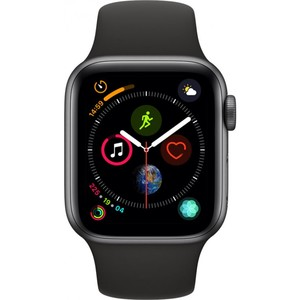 Apple Watch Series 4 - GPS 40mm Space Grey Aluminium Case with Black Sport Band