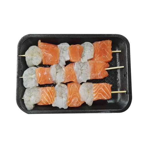 Salmon & Shrimp Kebab 250g Approx. Weight