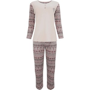 De Backers Women's Pyjama Set Long Sleeve W18-32P