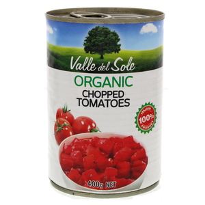 Valle Del Sole Organic Chopped Tomatoes 400g